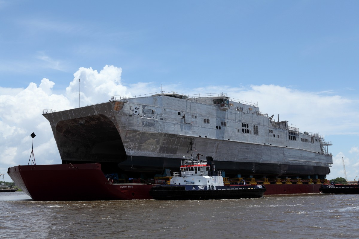 Austal Delivers Expeditionary Fast Transport 6 To U S