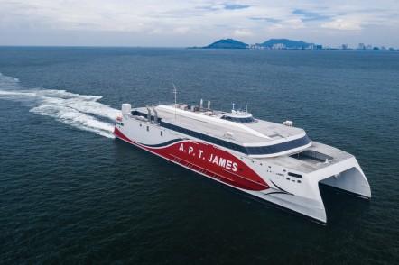 Austal Hull 397 APT James
