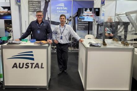 Austal at Sanctuary Cove International Boat Show 2021