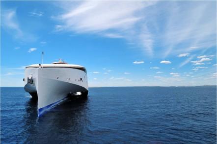 102m Next Generation Trimaran Ferry