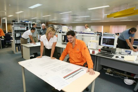 Design staff at Austal Australia
