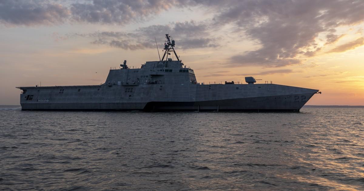 austal u2019s littoral combat ship uss kansas city  lcs 22